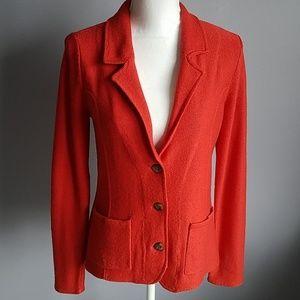 Tahari Merino Blend Sweater Jacket
